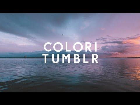 Come Fare Colori Tumblr Lightroom Tutorial Fotografia Youtube