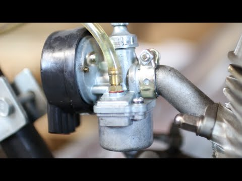 How a Carburetor for Motorized Bicycles Work