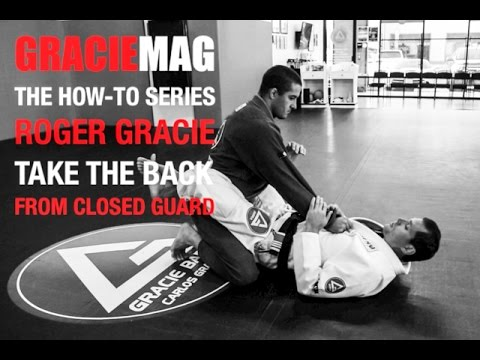 HOW-TO: Roger Gracie taking the back from the closed guard