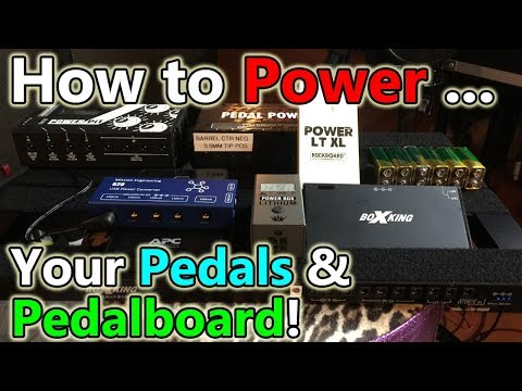 5 Ways to Power Your Pedals!