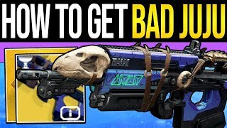 One of xHOUNDISHx's most viewed videos: Destiny 2 | How to Get BAD JUJU Exotic Fast! - Full Quest Guide, Easy Tributes & Exotic Mission!