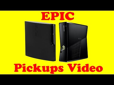 An EPIC Xbox 360 and PS3 Used Games Pickups Video