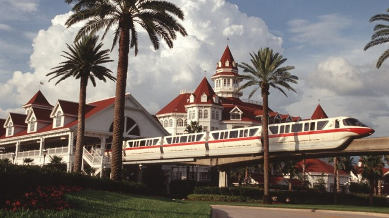Image result for disney monorail magic kingdom