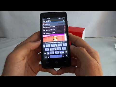 Vodafone Smart 4 Turbo Android bemutató videó