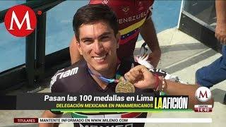 México gana la medalla 100 en los Juegos Panamericanos 2019