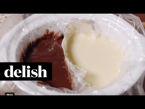 Double Chocolate Fondue | Delish