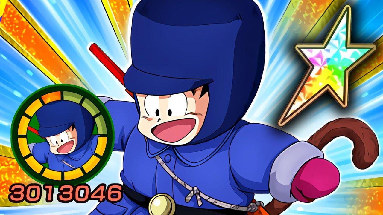 100 New Teq Kid Goku Showcase Level 10 Links Dragon Ball Z Dokkan Battle Youtube
