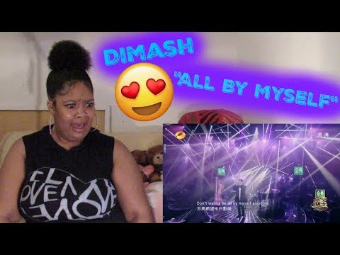 Dimash-  All by myself Reaction Phenomenal