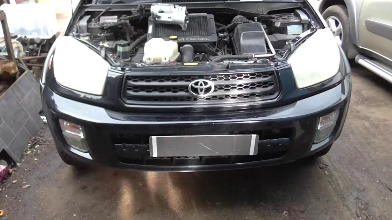 Toyota Rav4 2002 4d4 Sel Changing Starter Motor Hot Starting Problems
