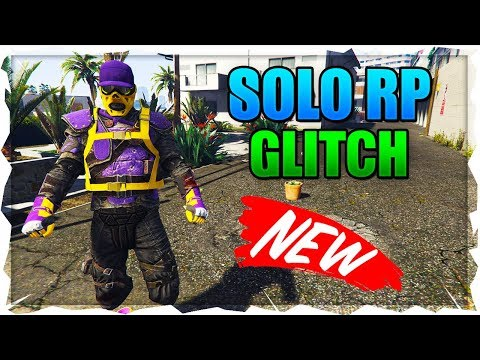 GTA 5 *SOLO* How To Rank Up Fast Online - *NEW* SOLO RP Glitch! Level Up Fast! GTA V SOLO RP Glitch
