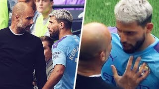 Why Agüero and Guardiola clashed during City-Tottenham - Oh My Goal