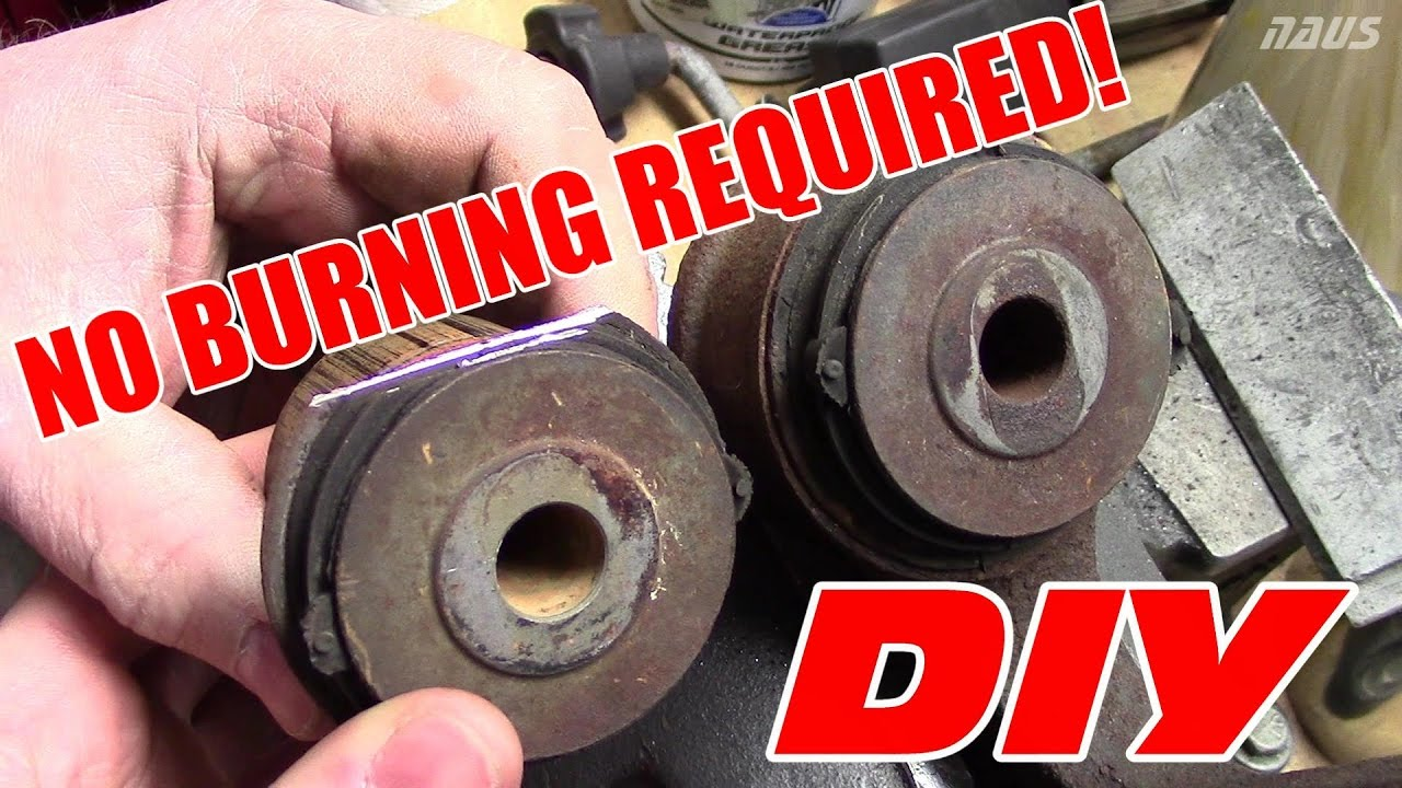 How To Remove Oem Control Arm Bushings Torchless Method