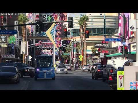 Downtown Las Vegas Driverless Shuttle Pilot Program Launch