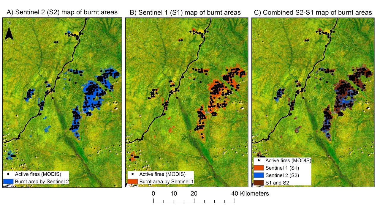 How Satellite Image Helped Detect Forest Fire In Congo Youtube