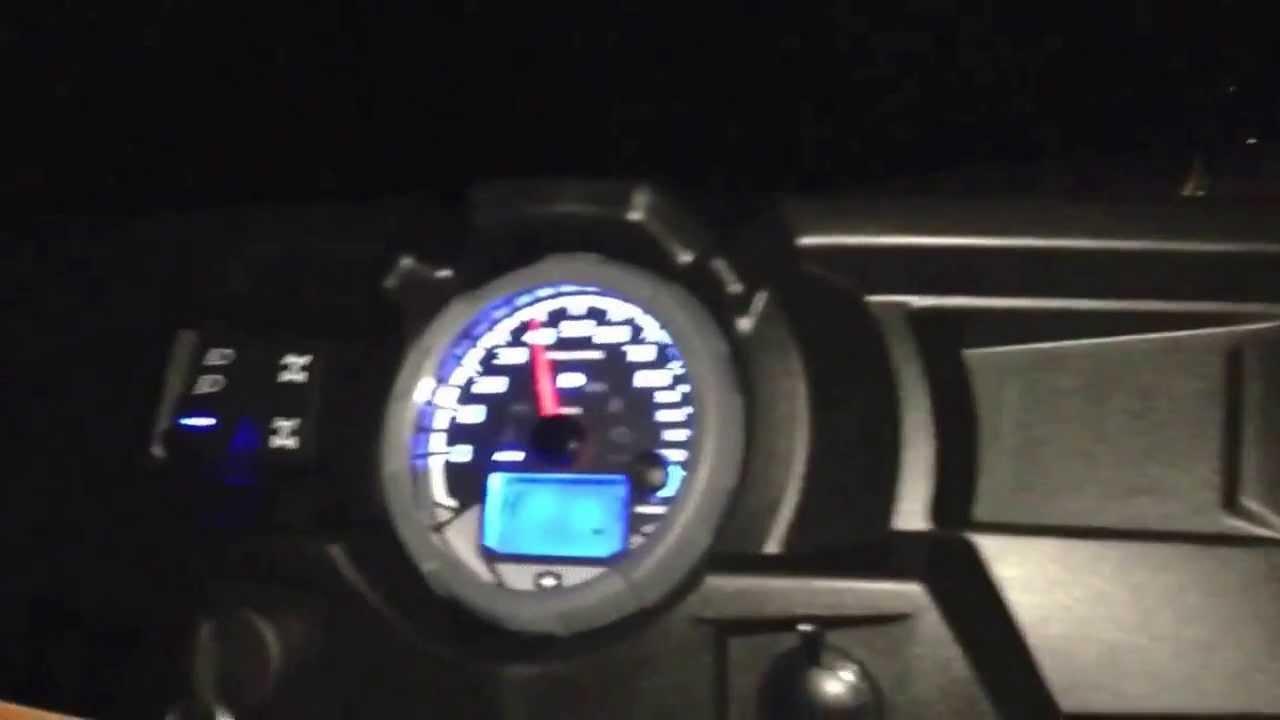 Polaris RZR XP 1000 Top Speed Run