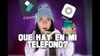 CON QUE EDITO MIS VIDEOS/QUE HAY EN MI TELEFONO
