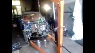 Hafei Lobo/Brio результат съема двигателя