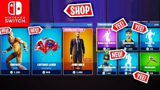 new! BIGFOOT Skin & ALSO SIEGE Dance - Today's Shop | Fortnite Switch