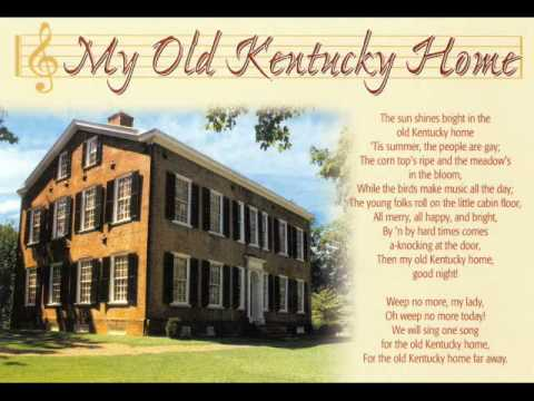 Stephen Foster, My Old Kentucky Home and other songs
