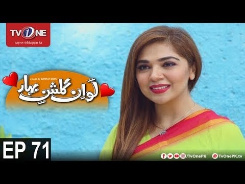 Love In Gulshan E Bihar -Episode 71 - TV One Drama - 2nd November 2017