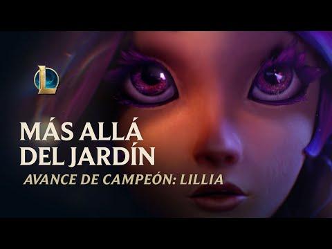 Más allá del jardín - Avance de campeón de Lillia   League of Legends