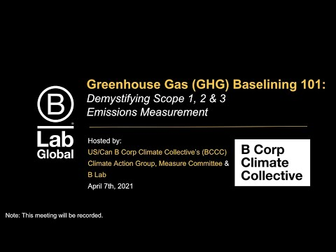 Greenhouse Gas (GHG) Baselining 101: Demystifying Scope 1, 2 & 3 Emissions Measurement