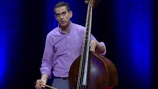 A humorous introduction to the double bass | Bret Simner | TEDxBasel