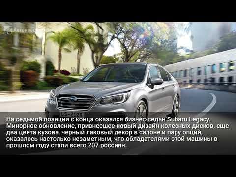 Названы самые непопулярные японские автомобили в России
