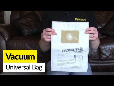 Universal Vacuum Cleaner Bags Stock Number: ES471016