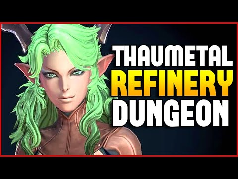 Tera Online Thaumetal Refinery Dungeon Reaper Gameplay 2K HD