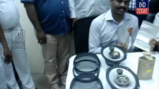 RGI Airport Custom Officials seize 1.5 kgs of Gold from two passengers
