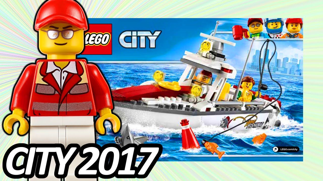 New LEGO City Fishing Boat 60147