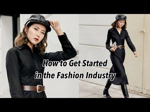 Tìm hiểu về Ngành Thời Trang ở đâu ? How to Get Started in the Fashion Industry | From Sue