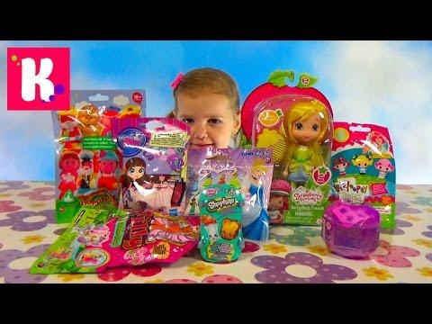 Кукла Шарлотта Земляничка Лимонка сюрпризы Холодное сердце игрушками распаковка doll and surprises