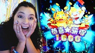 She won the BIG Jackpot on Bounce Fireball!