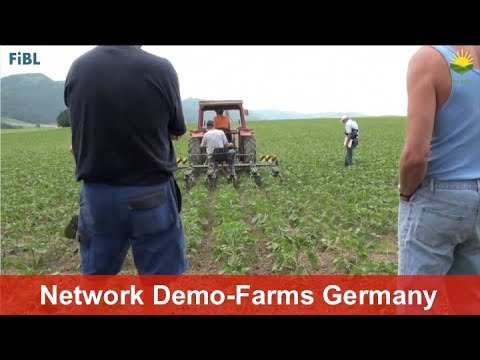 How the German network of demonstration farms in organic farming works
