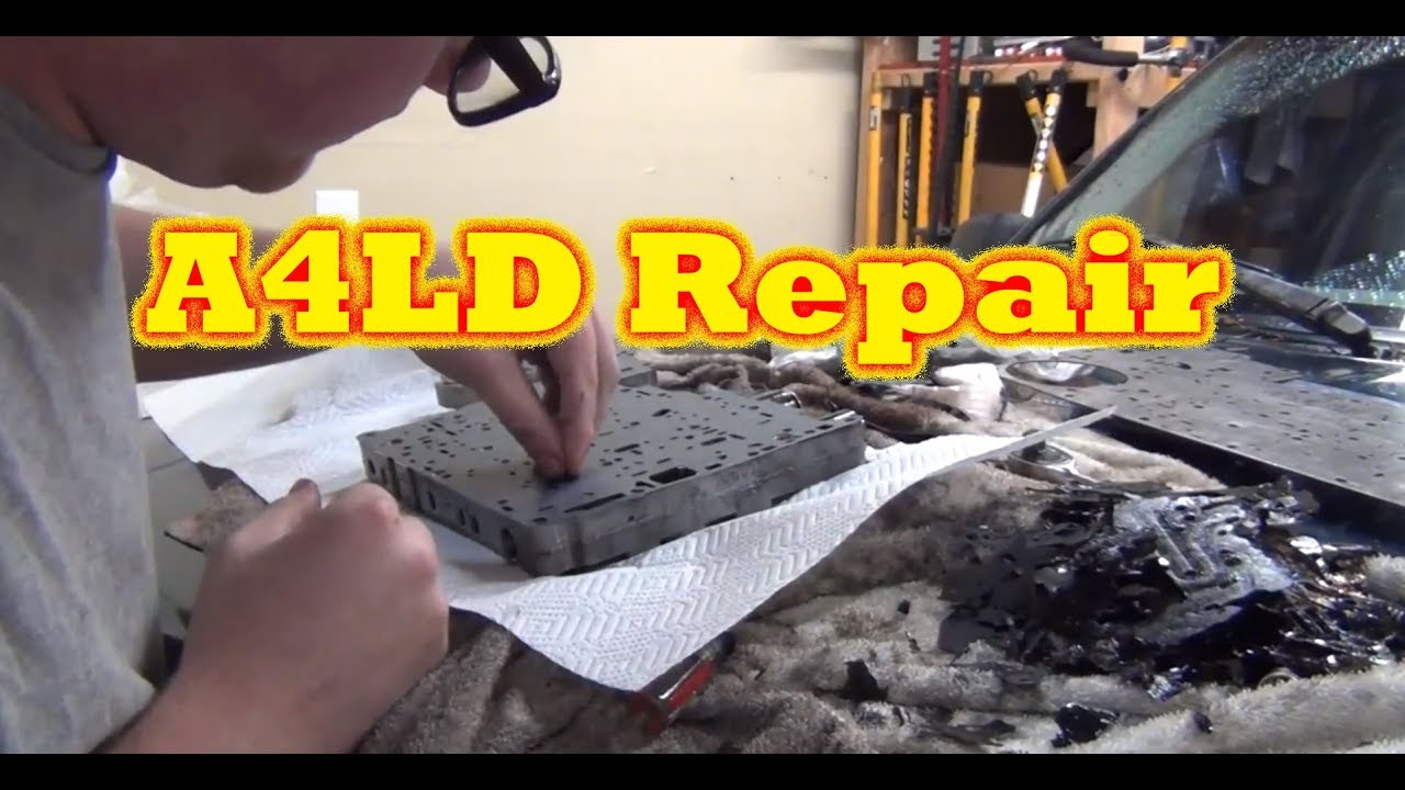 1994 Ford Explorer A4LD Transmission Valve Body Gasket Replacement
