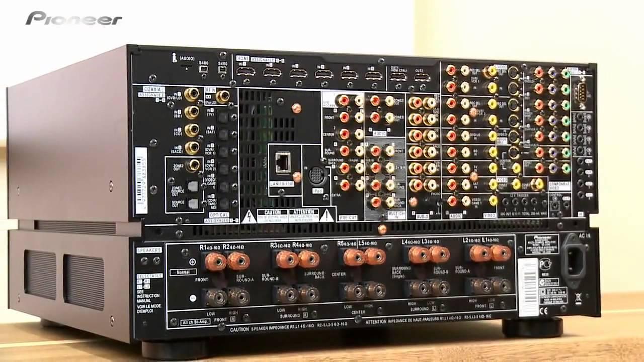 Pioneer Av Receiver >> Pioneer SC-LX90 - YouTube