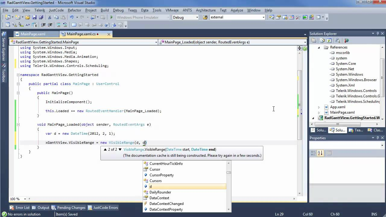 Ganttview part 1 getting started silverlight wpf youtube ganttview part 1 getting started silverlight wpf ccuart Images