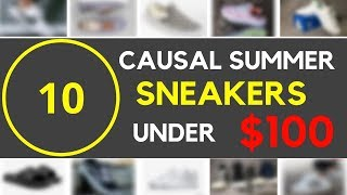 10 Casual Summer Sneakers Under $100