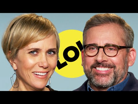 Steve Carell & Kristen Wiig Ask Each Other Ridiculous Questions