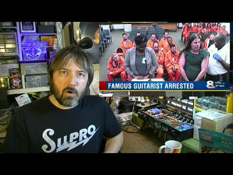Famous Guitarist ARRESTED!...GIBSON Moves Factory...Prince & DIME Lawsuits - SPF