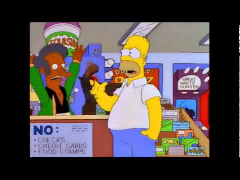 The Simpsons - Homer's Gun