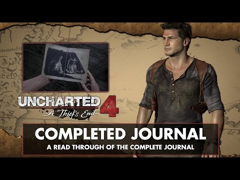Uncharted 4: A Thief's End • Readthrough of full Journal Entries and Notes