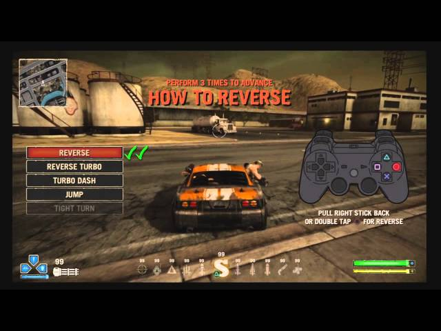 Twisted Metal PS3 Demo Tutorial & Cars (in HD)