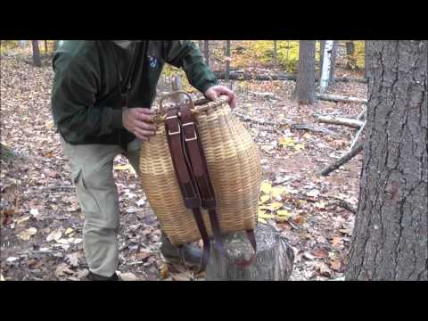 Maine Guide Pack Basket