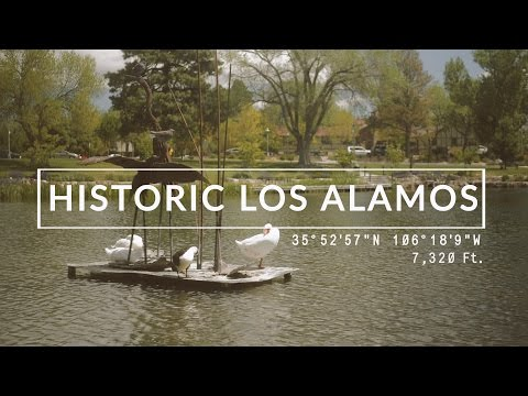 Historic Downtown Los Alamos, New Mexico