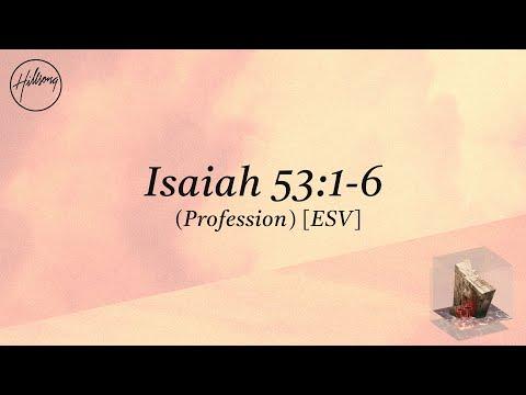 Hillsong Worship – Isaiah 53:1-6 (ESV)