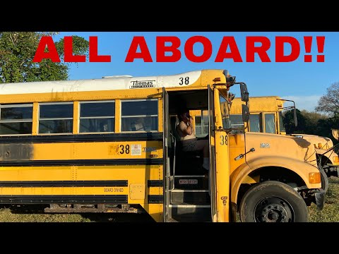 WE BOUGHT SCHOOL BUSES!!!