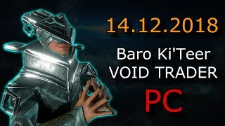 Warframe - Baro Ki'Teer (PC) - Tenno Kindred Rug (PC)